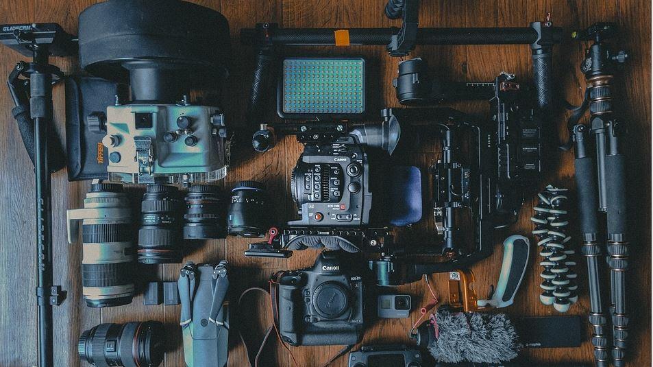 Ausrüstung Videoproduktion